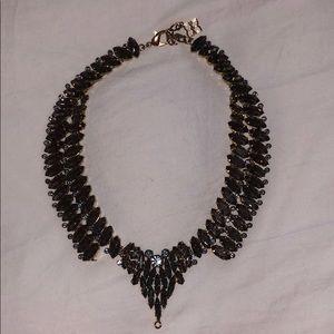 BCBG Green Crystal Necklace